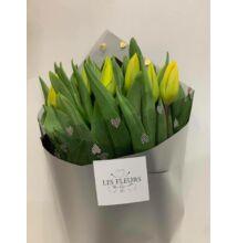 Tulipán 20 szál sárga