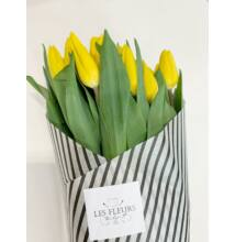 Tulipán 40 szál sárga
