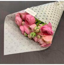 Rózsaszín/pink boglárka 10 szál