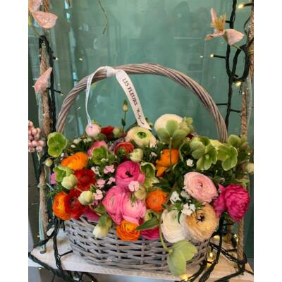 "Virágkosár ""L Méret"