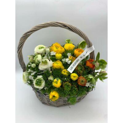 """Virágkosár """"M"""" Méret"""