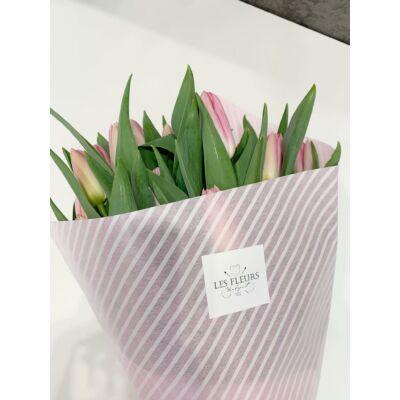 Tulipán 80 szál rózsaszín