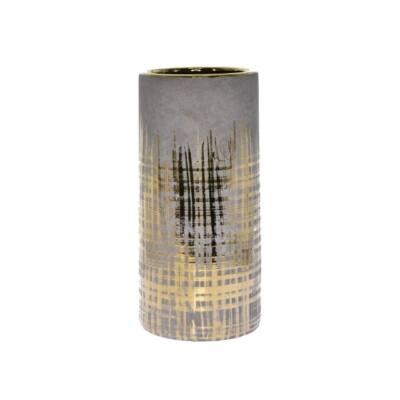 Szürke-arany váza