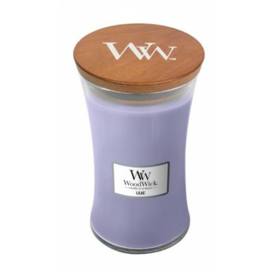Nagy gyertya Lilac Woodwick