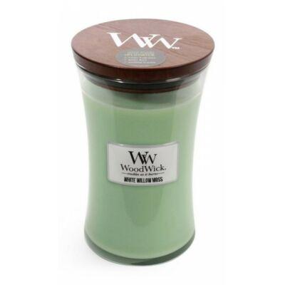 Nagy White Willow Moss Woodwick